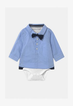 NBMROHAN BOX - Shirt - cashmere blue