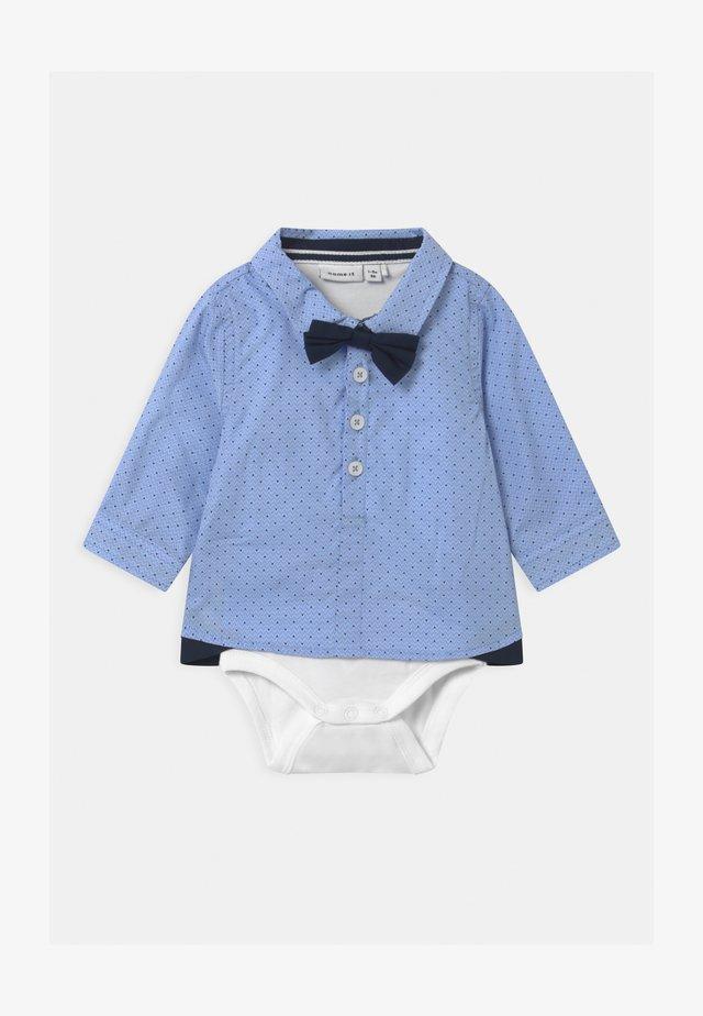 NBMROHAN BOX - Camicia - cashmere blue