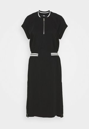 CADY TENNIS DRESS - Freizeitkleid - black