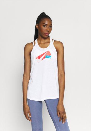DRY ELASTIKA - Camiseta de deporte - white/chile red