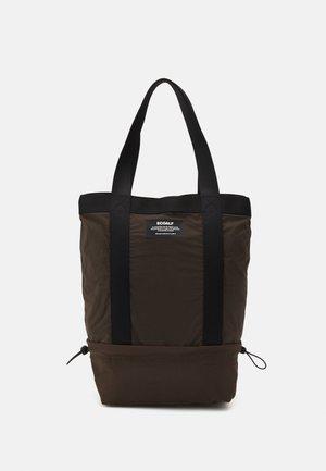 CLEMENTE VERTICAL SHOPPER WOMAN - Tote bag - dark bronze