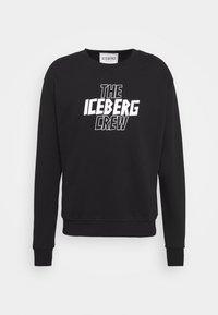 Iceberg - FELPA GIROCOLLO  - Sweatshirt - nero - 6