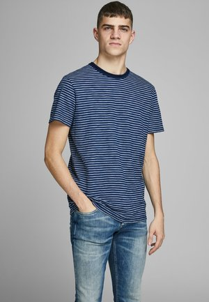 T-shirt imprimé - dark blue denim