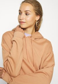 Even&Odd - BASIC - Oversized hoodie with pocket - Hoodie - light tan - 3