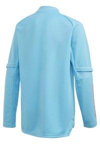 adidas Performance - REAL MADRID AEROREADY FOOTBALL PULLOVER - Long sleeved top - turquoise - 3