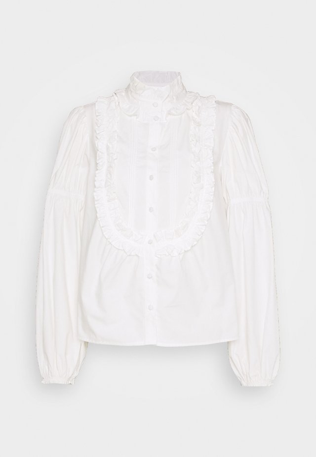 VICTORIANA POP BLOUSE - Bluzka - white