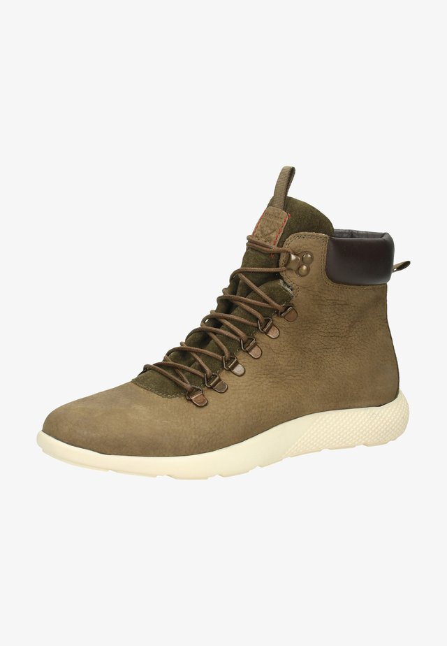 Lace-up boots - brown