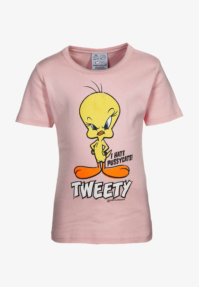 LOONEY TUNES-TWEETY - Print T-shirt - light pink
