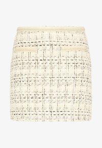 faina - TWEED - A-line skirt - champagner - 4