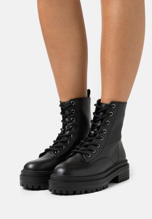 OBEY - Lace-up ankle boots - black