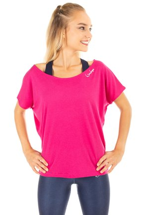 MCT002 ULTRA LIGHT - Print T-shirt - deep pink