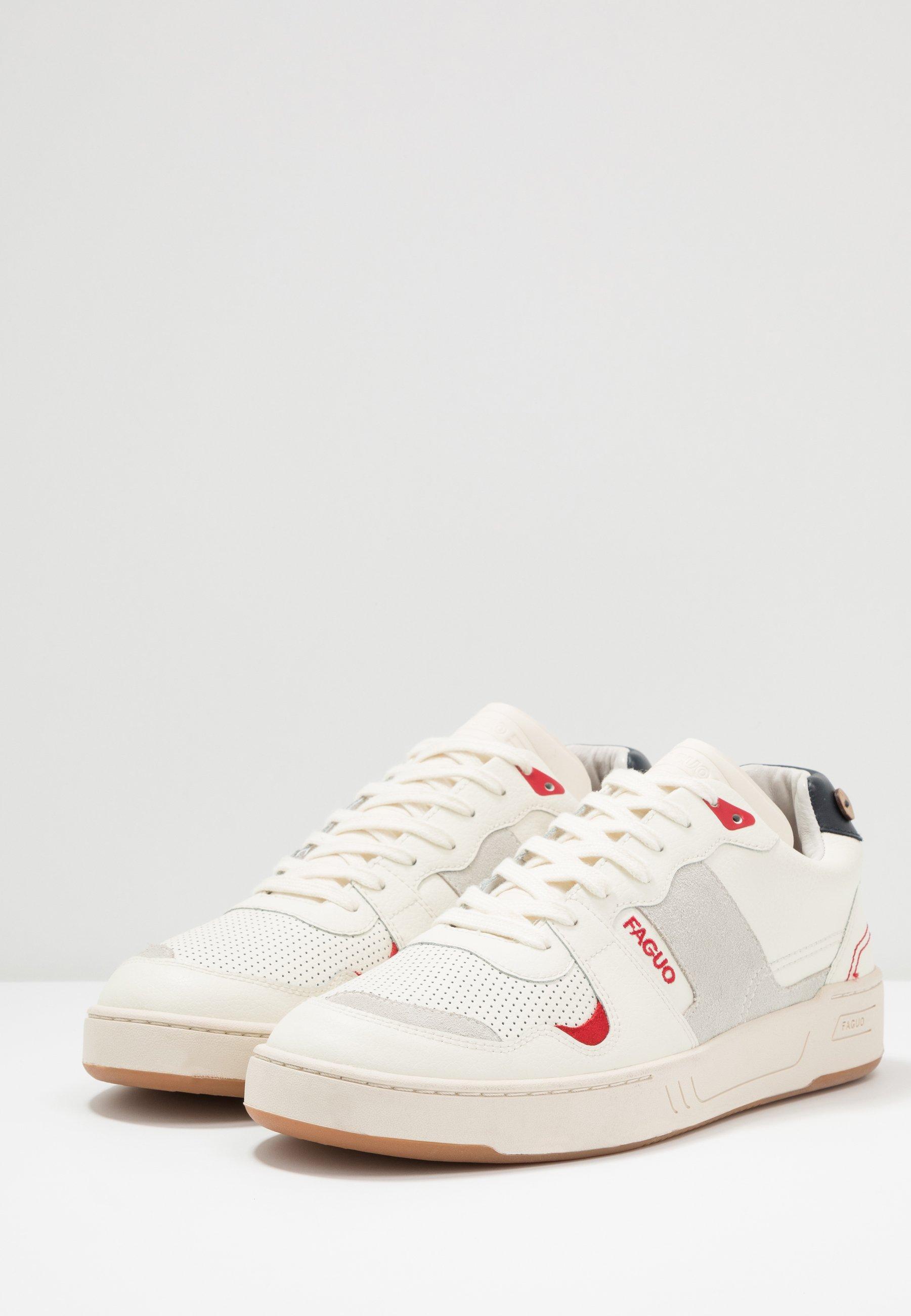 Nowy styl Zniżka Faguo BASKETS CEIBA - Sneakersy niskie - white | Obuwie damskie 2020 62fWA