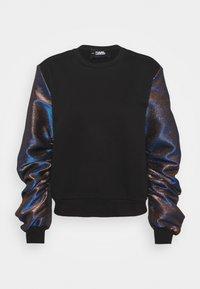 SLEEVES MIX  - Sweatshirt - black