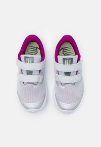 Nike Performance - STAR RUNNER 2 POWER UNISEX - Neutrale løbesko - pure platinum/multicolor/barely volt/red plum/white - 3