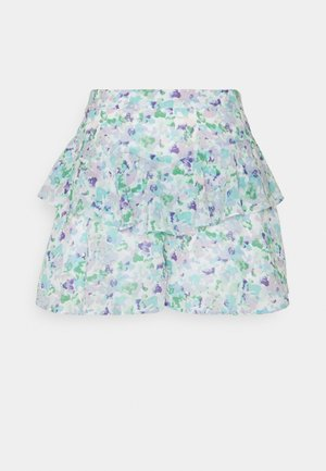 FRILL DETAIL - Shorts - blue