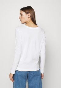 Selected Femme - SLFSTANDARD TEE - Long sleeved top - bright white - 2