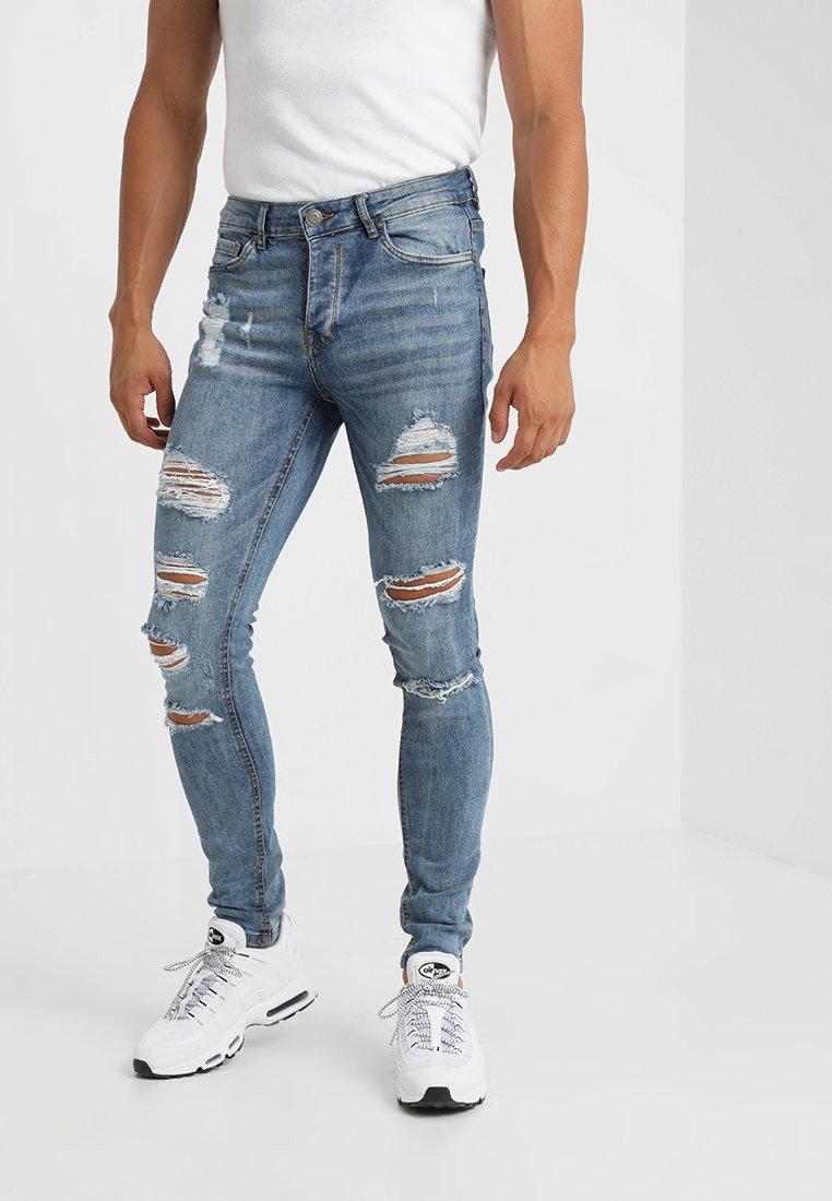 Brave Soul - LEYLAND - Jeans Skinny Fit - denim