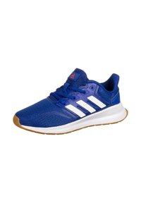 adidas Performance - RUNFALCON UNISEX - Neutral running shoes - royal blue / footwear white / semi solar red - 2