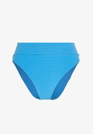 HI CUT CHEEKY PIECED - Bikini bottoms - blue