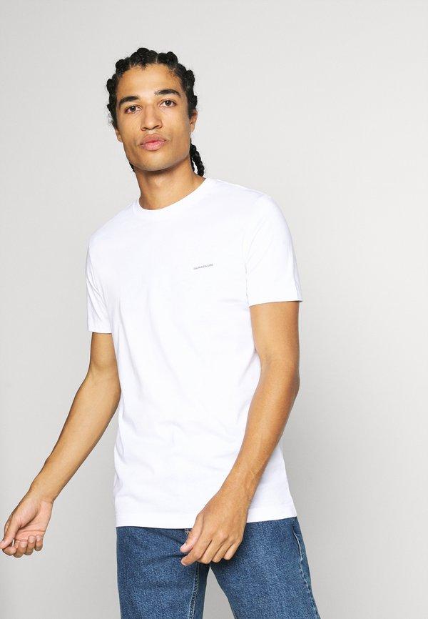 Calvin Klein Jeans 3 PACK TEE - T-shirt basic - night sky/ black /bright white/granatowy Odzież Męska BURL
