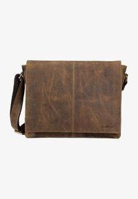 Greenburry - VINTAGE  - Across body bag - brown - 3