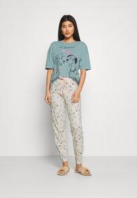 Marks & Spencer London - DALMATIANS - Pyjama - aqua mix - 0