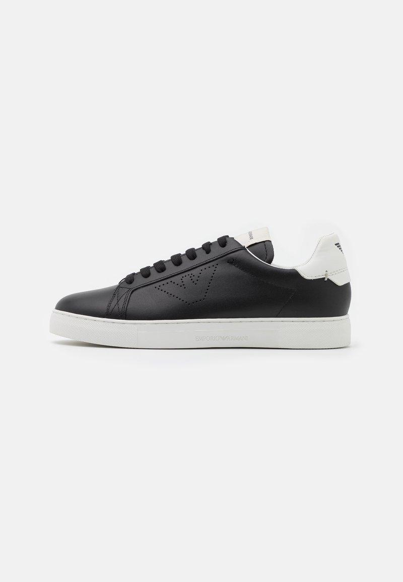 Emporio Armani - Sneakers laag - black/white