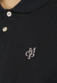 Marc O'Polo - SHORT SLEEVE BUTTON - Polo shirt - black - 6