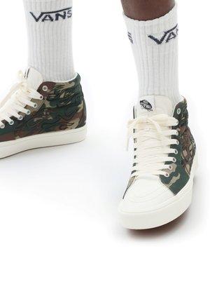 UA COMFYCUSH  - Sneakers hoog - (flameembrdry)wdlndmshmlw
