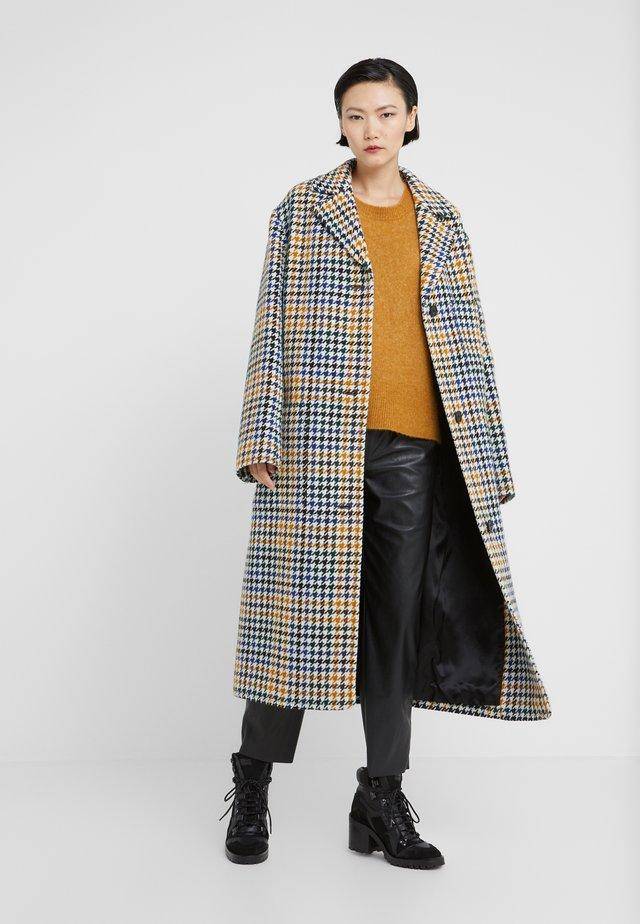 LONG POCKET COAT - Abrigo - multicolor