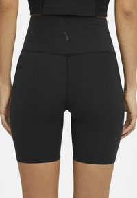 Nike Performance - YOGA LUXE SHORT - Leggings - black/dark smoke grey - 2