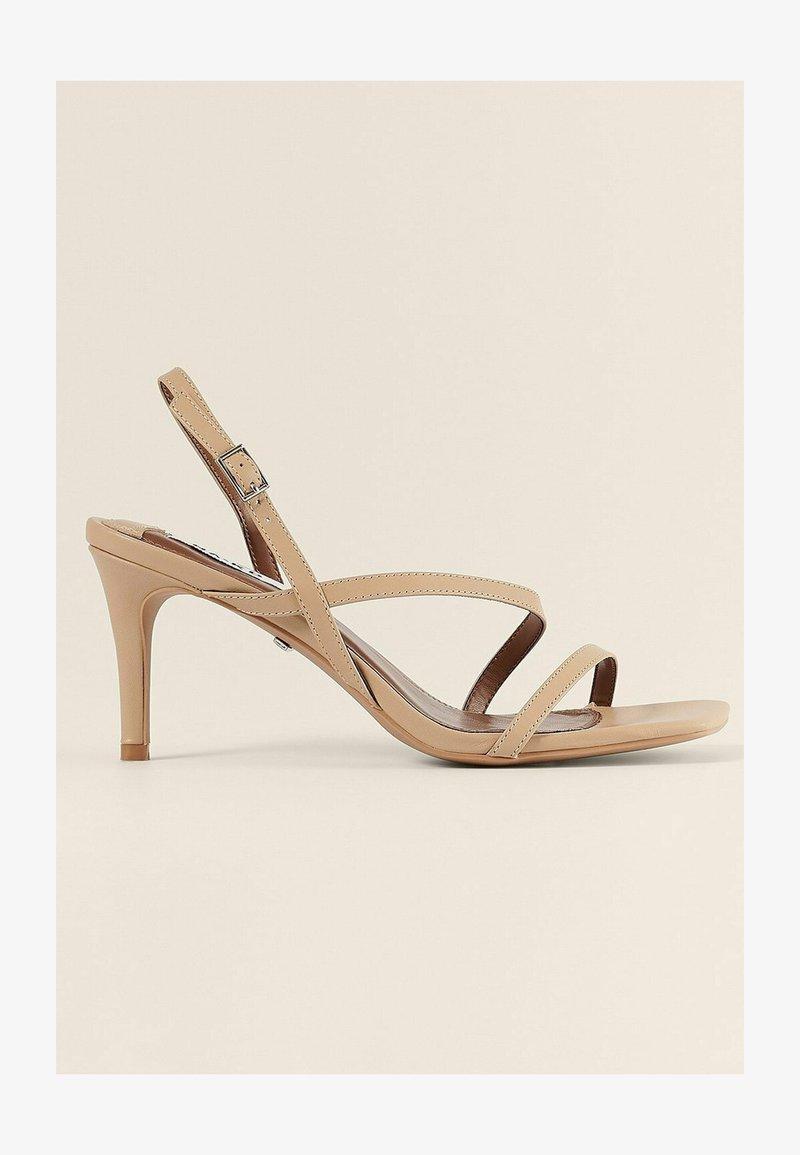 NA-KD - High heeled sandals - beige