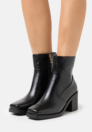 WIDE FIT ZERRIN - Classic ankle boots - black
