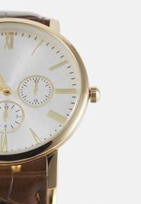 Burton Menswear London - CLASSIC WATCH - Reloj - gold-coloured/brown - 3