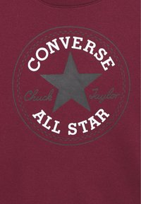 Converse - CHUCK PATCH CREW - Sweater - dark burgundy - 2