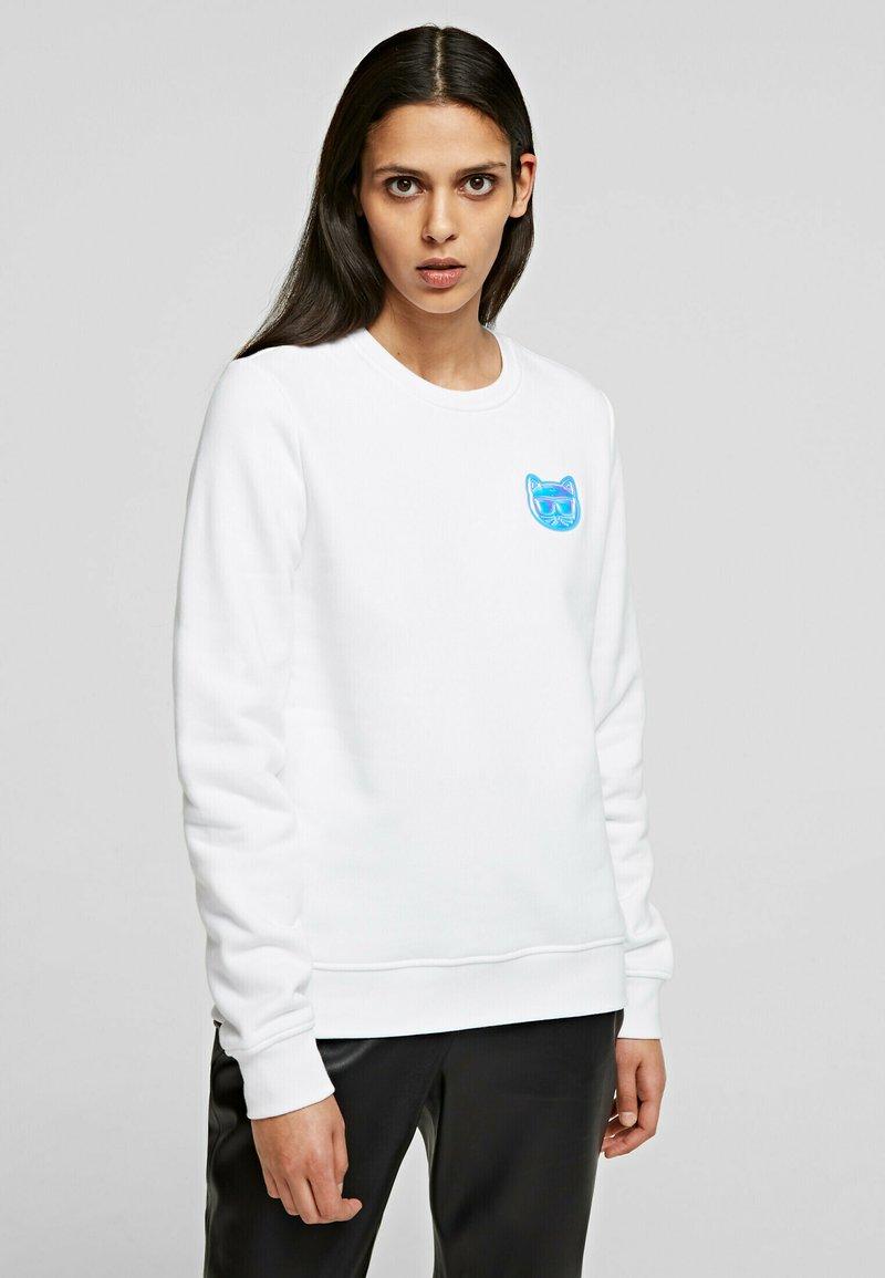 KARL LAGERFELD - Sweatshirt - white