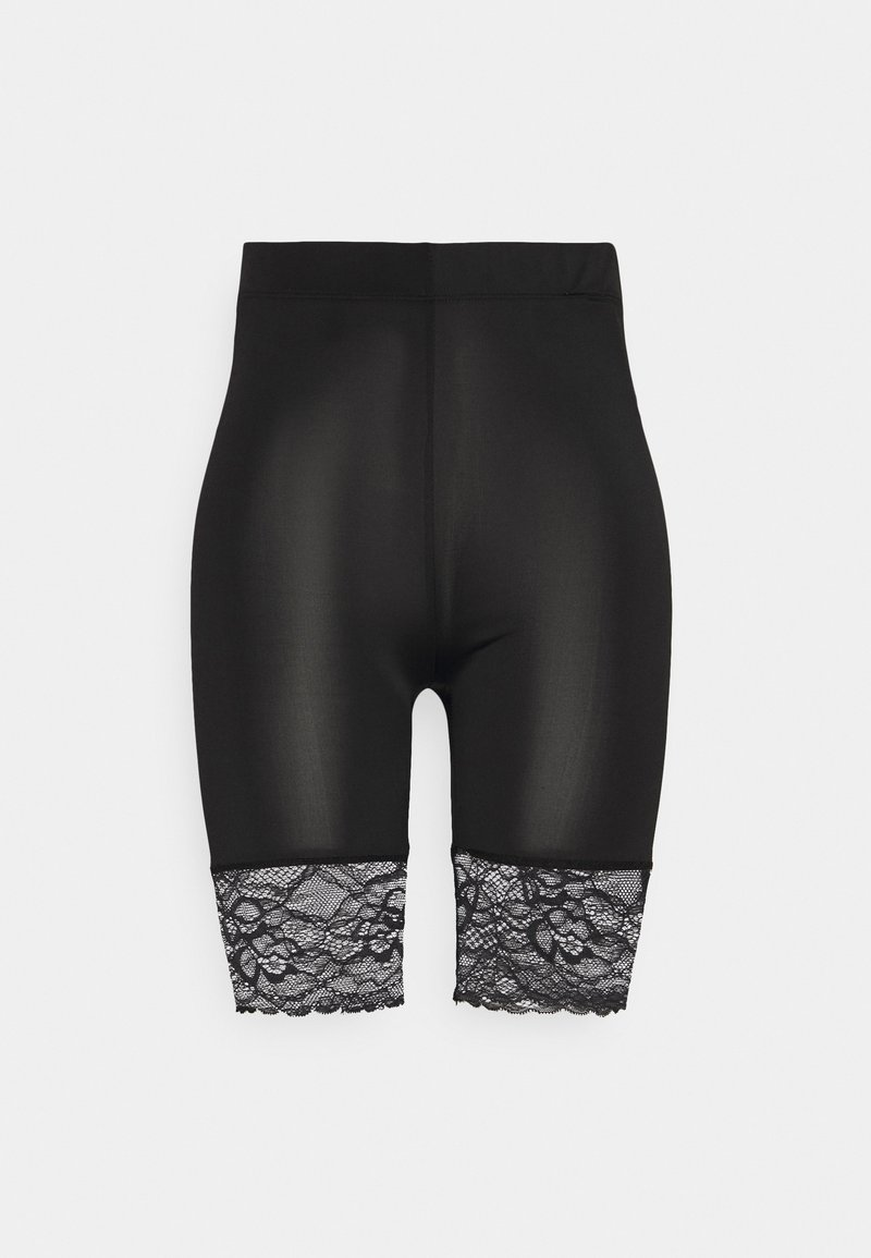 Soaked in Luxury - KARIANA BIKE SHORTS - Leggings - Trousers - black