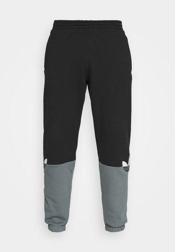 SLICE - Pantalones deportivos - black/blue oxide
