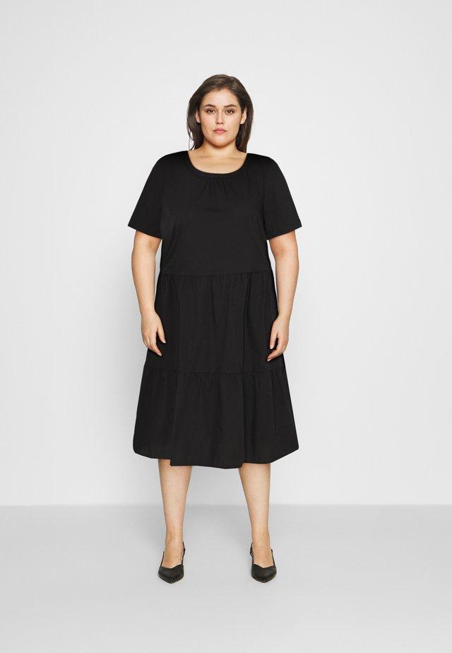 VMGULVA ABOVE KNEE DRESS - Denní šaty - black