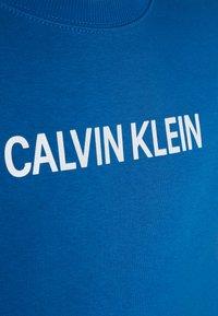 Calvin Klein Jeans - LOGO BRUSHED CREW NECK - Sweater - blue - 2