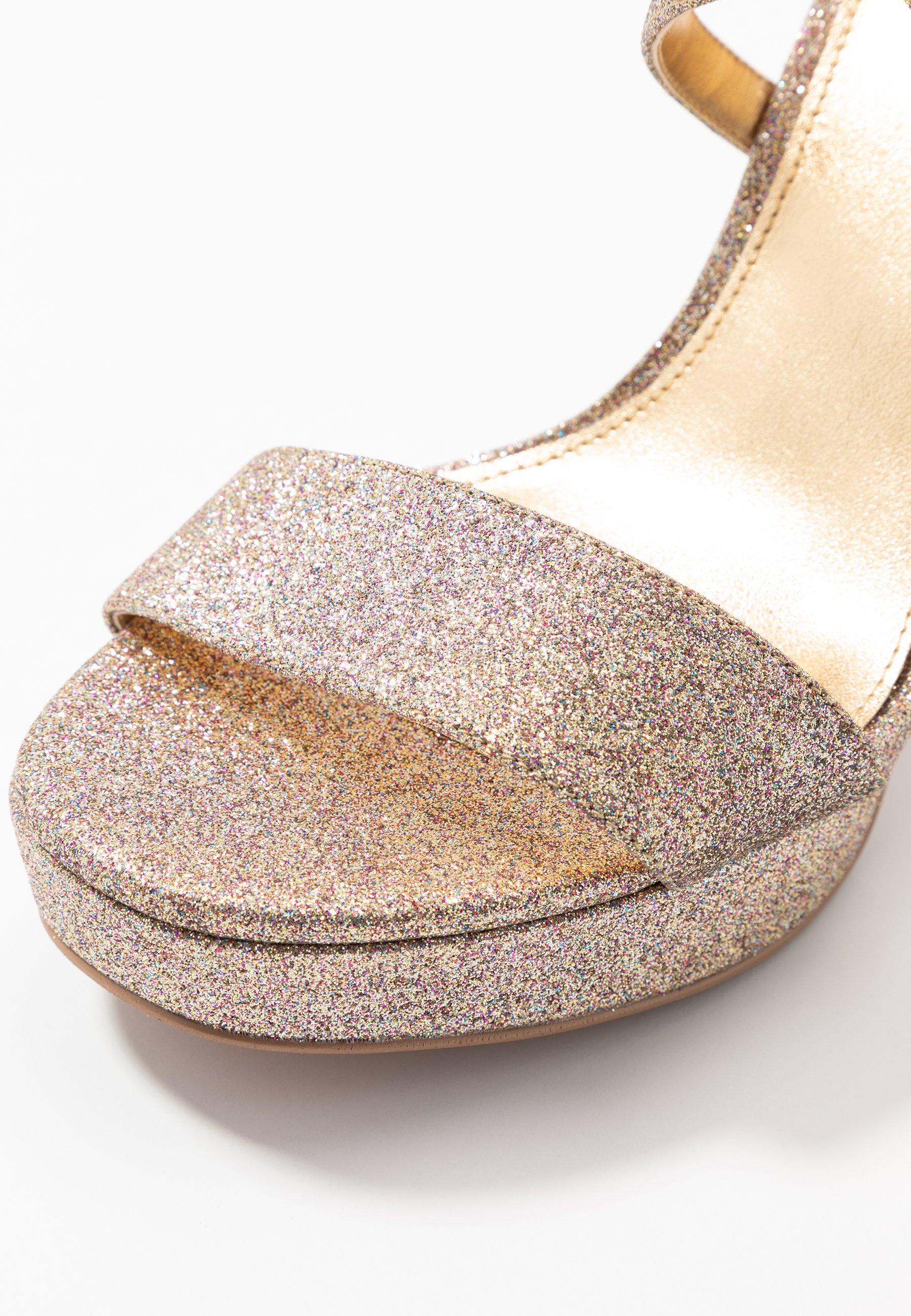 MICHAEL Michael Kors CHARLIZE PLATFORM - Sandaler med høye hæler - multicolor