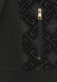 Glorious Gangsta - SINTOS HOOD - Zip-up hoodie - black/gold - 6