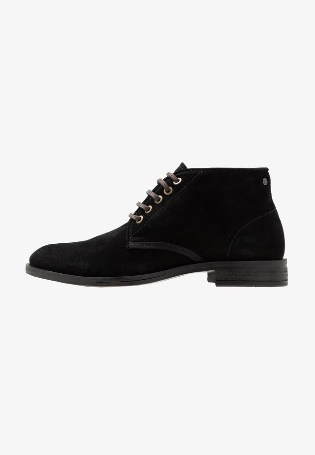 BEYOND - Lace-up ankle boots - black