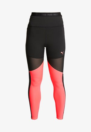 BE BOLD THERMO - Leggings - black/ignite pink