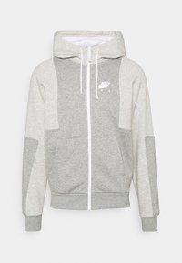 Nike Sportswear - AIR - Bluza rozpinana - grey heather/grey heather/white - 4