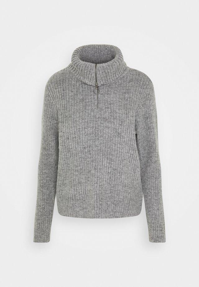 OBJRACHEL - Trui - light grey melange