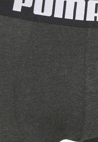 Puma - MEN GRADIENT STRIPE BOXER 2 PACK - Culotte - black/grey - 6