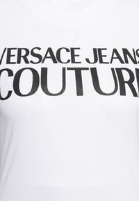 Versace Jeans Couture - TEE - Print T-shirt - optical white - 6