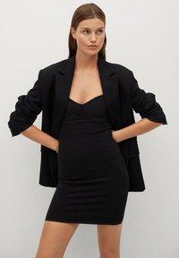 Mango - KENDALL - Cocktail dress / Party dress - svart - 5
