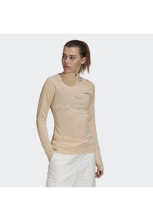 TERREX TRACEROCKER HALF ZIP - Langærmede T-shirts - halo blush